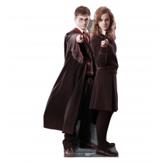 Harry, and Hermione Harry Potter Cardboard Cutout