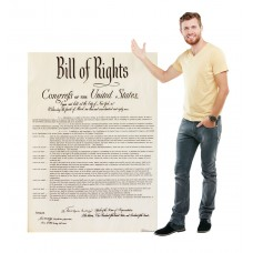 Bill of Rights Cardboard Cutout