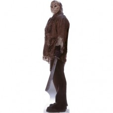 Jason Freddy vs Jason Cardboard Cutout