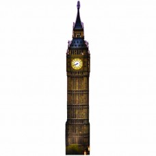 Big Ben Night Cardboard Cutout