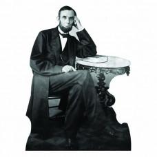 Abraham Lincoln Sitting Cardboard Cutout