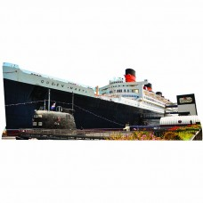 RMS Queen Mary Cardboard Cutout
