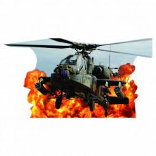 Apache Fire Cardboard Cutout
