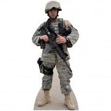 Soldier Air Force Cardboard Cutout