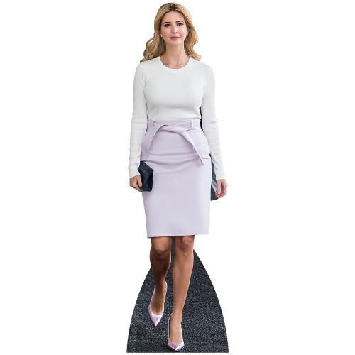 Ivanka Trump White Cardboard Cutout