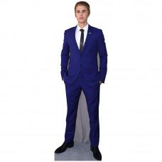 Justin Bieber Blue Suit Cardboard Cutout