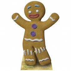 Gingerbread Man Cardboard Cutout