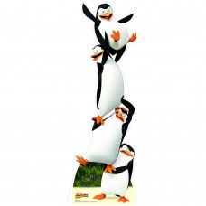 Penguins - Madagascar Cardboard Cutout