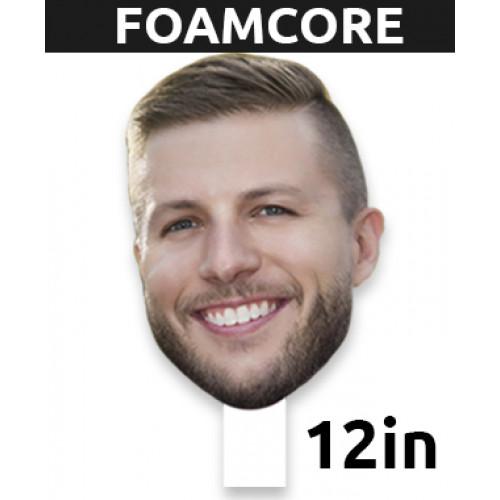 """12"""" Personalized Foamcore Big Head"""