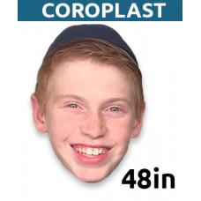 "48"" Personalized Coroplast Big Head"